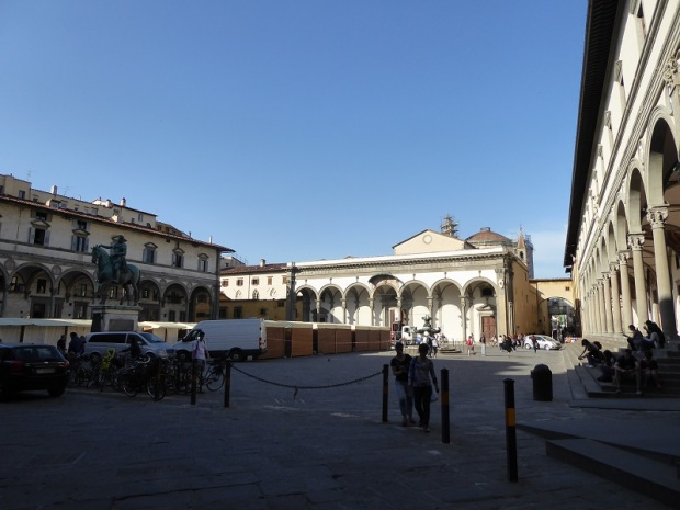 952. Piazza Santissima Annunziata