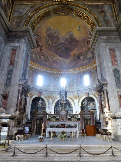 954. Santissima Annunziata. Presbiterio