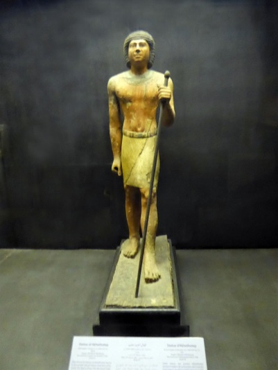 985. Saqqara. Museo de Imhotep. Estatua de Akhethotep 2504-2347 a. C..