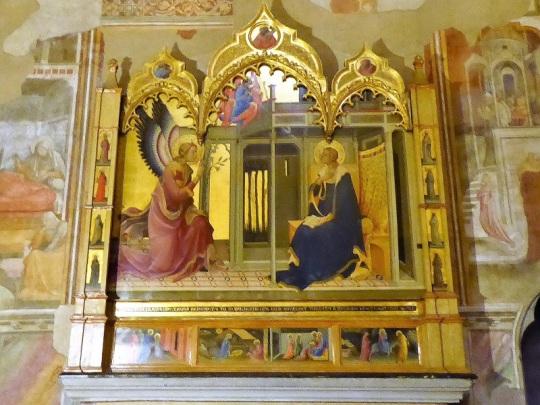 987. Santa Trinita. Anunciación. Lorenzo Monaco