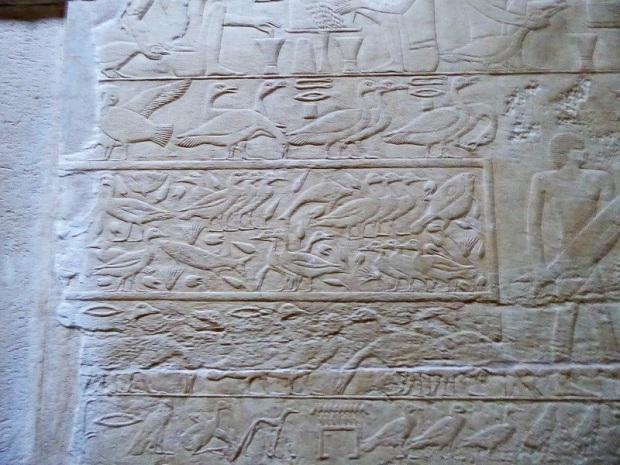 988. Saqqara. Tumba de Kagemni