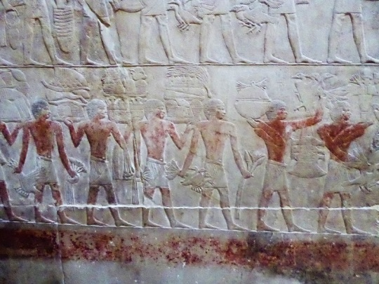 990. Saqqara. Tumba de Kagemni
