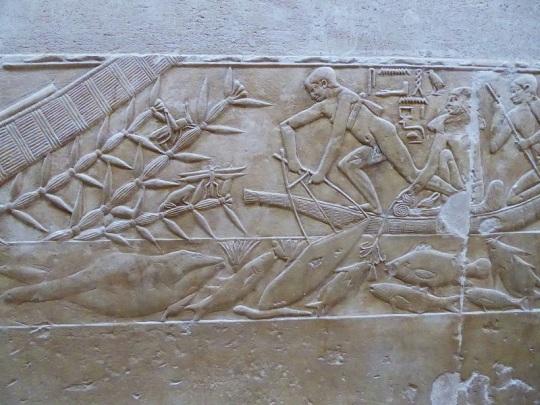 994. Saqqara. Tumba de Kagemni