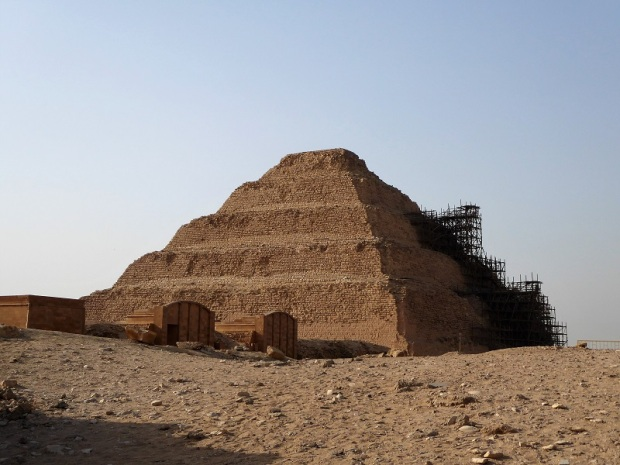 998. Saqqara. Pirámide de Zoser