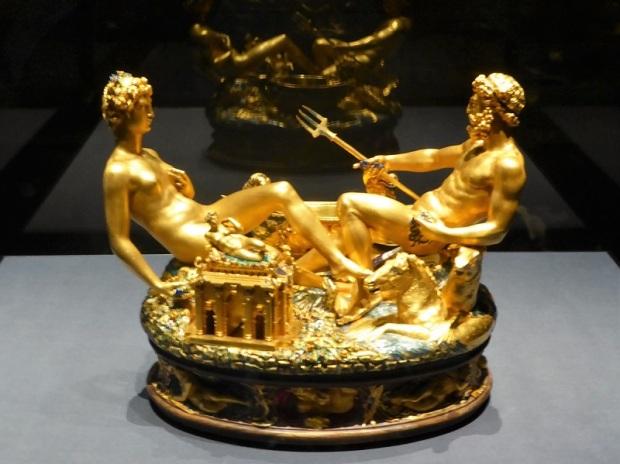 111. Museo de Bellas Artes. Salero. B. Cellini. 1540-1543