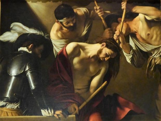 143. Museo de Bellas Artes. La coronación de espigas. Caravaggio