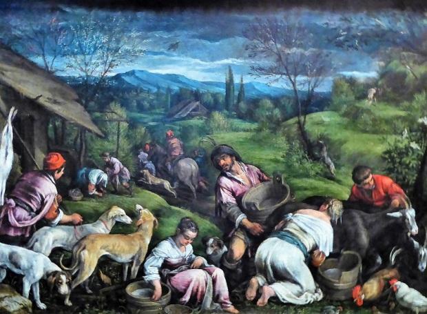 147. Museo de Bellas Artes. Primavera. F. Bassano. 1576