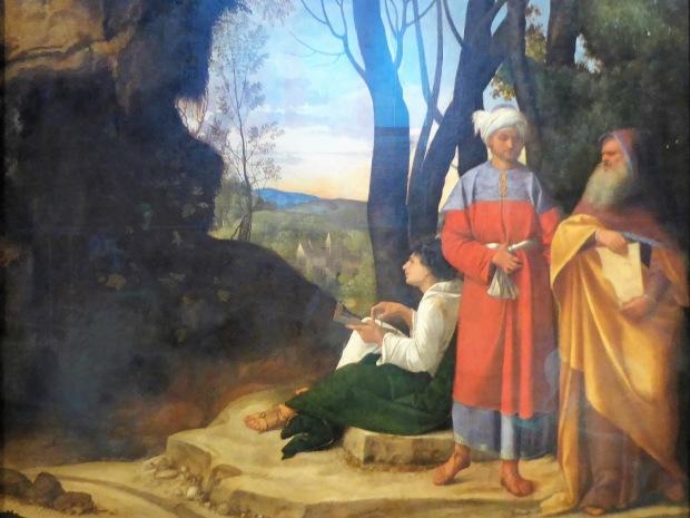 151. Museo de Bellas Artes. Los tres filósofos. Giorgione