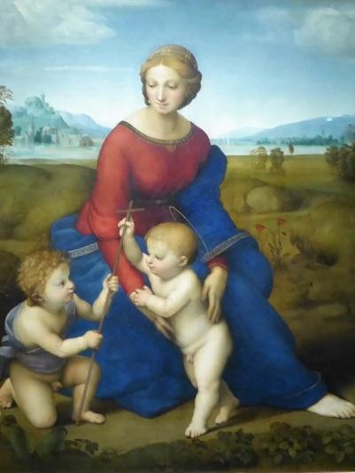 157. Museo de Bellas Artes. La Virgen del Prado. Rafael