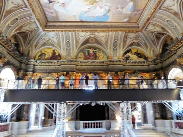 164. Museo de Bellas Artes. Galería decorada por Klimt