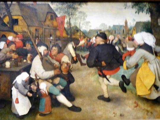 165. Museo de Bellas Artes. Danza campesina. Pieter Brueghel el Viejo