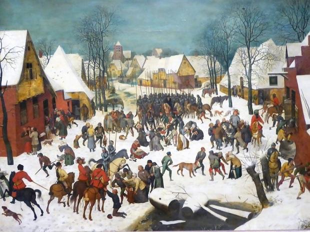 168. Museo de Bellas Artes. Masacre de inocentes. Pieter Brueghel el Viejo