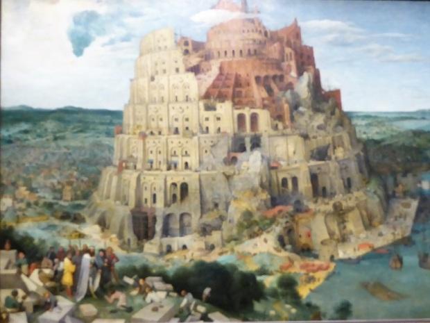 176. Museo de Bellas Artes. La torre de Babel. Pieter Brueghel el Viejo