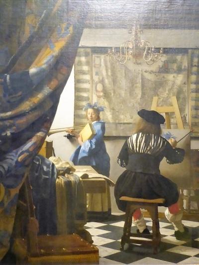 180. Museo de Bellas Artes. La alegoría de la Pintura. Vermeer de Delft