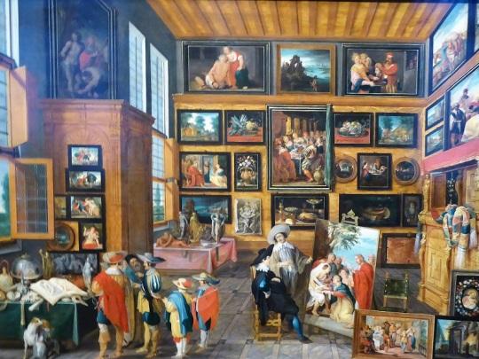 182. Museo de Bellas Artes. Gabinete de Arte. Hans III Jordaens