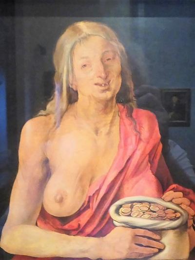 183. Museo de Bellas Artes. Figura femenina alegórica. A. Durero