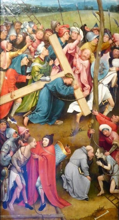 185. Museo de Bellas Artes. Cristo con la cruz a cuestas. El Bosco