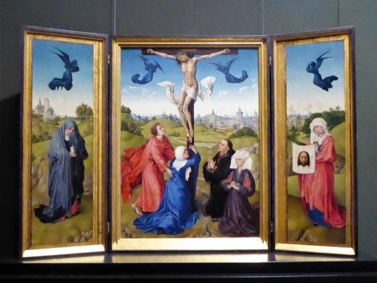 187. Museo de Bellas Artes. Calvario. R. van der Weyden