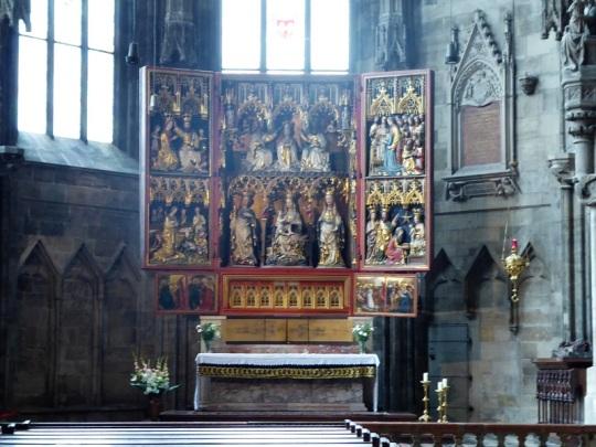 233. Catedral. Retablo de Wiener Neustadt. 1ª mitad del XV