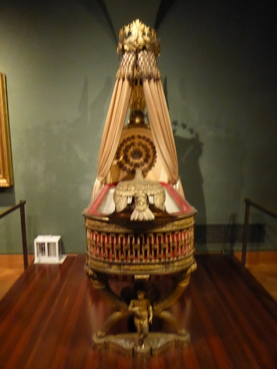 260. Schatzkammer. Trono-cuna de los Reyes de Roma