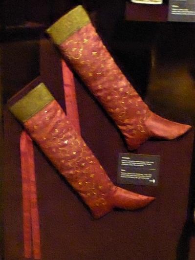 276. Schatzkammer. Medias para Guillerrmo II de Sicilia (1166-1189). Las cintas son del XIX