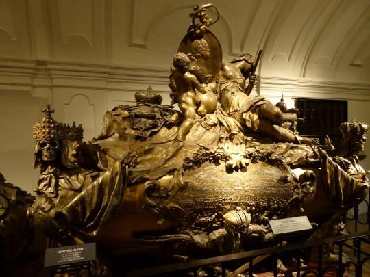 296. Cripta de los Capuchnos. Tumba del emperador Carlos VI
