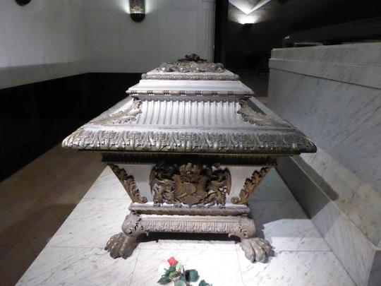 306. Cripta de los Capuchnos. Tumba de Elisabet de Baviera (Sissí)