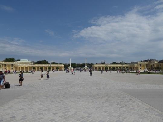 384. Schönbrunn. Jardines