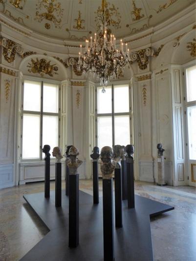 431. Oberes Belvedere. Bustos con de sí mismo con expresiones. F.X. Messerschmidt. 1777-1783
