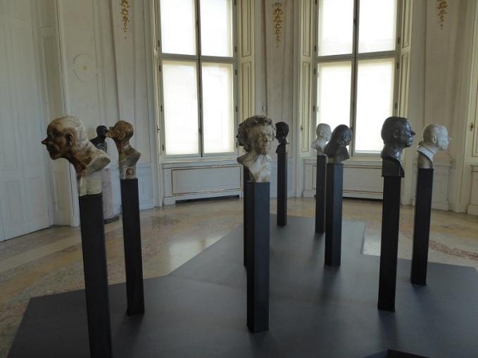 432. Oberes Belvedere. Bustos con de sí mismo con expresiones. F.X. Messerschmidt. 1777-1783