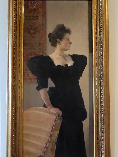 437. Oberes Belvedere. Retrato de mujer. Gustav Klimt. 1893