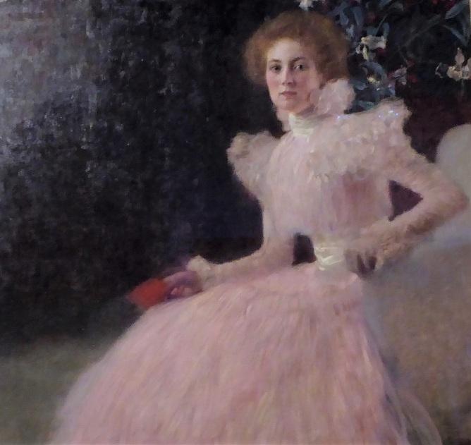 443. Oberes Belvedere. Somnia Knips. G. Klimt. 1897-1898