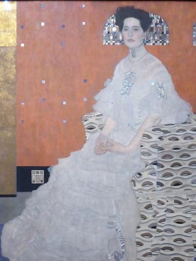 444. Oberes Belvedere. Fritza Riedler. G. Klimt. 1906
