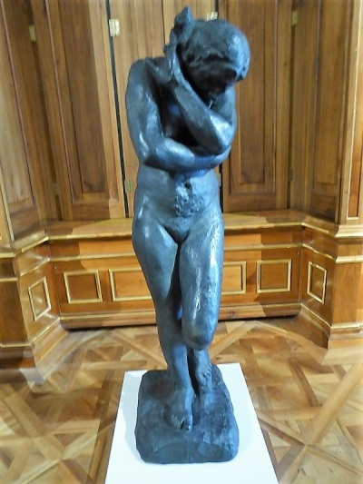 447. Oberes Belvedere. Eva. A. Rodin. 1881