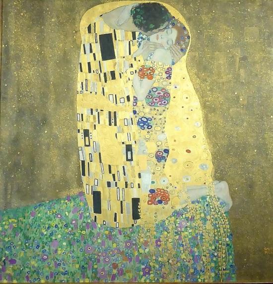 450. Oberes Belvedere. El Beso. G. Klimt. 1908
