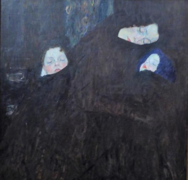 457. Oberes Belvedere. Madre con dos niños. G. Klimt. 1909-1910