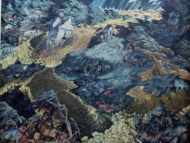 458. Oberes Belvedere. La Inundación. L. H. Jungnickel. 1913