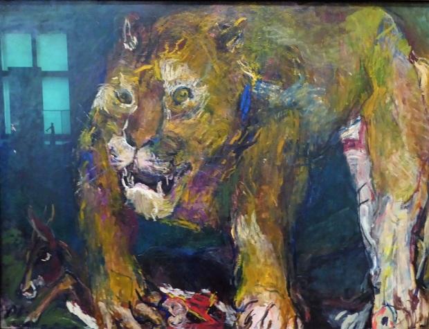 472. Oberes Belvedere. Tigreleón. O. Kokoschka. 1926