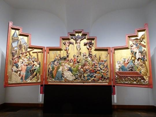 474. Oberes Belvedere. Tríptico de altar. 1440-1445