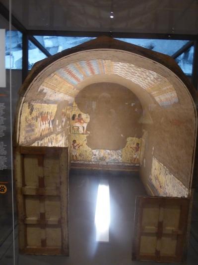 118. Museo Egipcio. La capilla de Maia. Imperio Nuevo. Fin XVIII dinastía. 1350-1292 a. C. Deir el-Medina