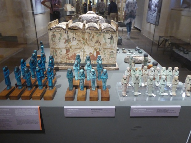 138. Museo Egipcio. Ushebty