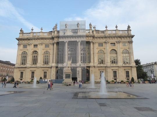 19. Piazza Castello. palazzo Madama