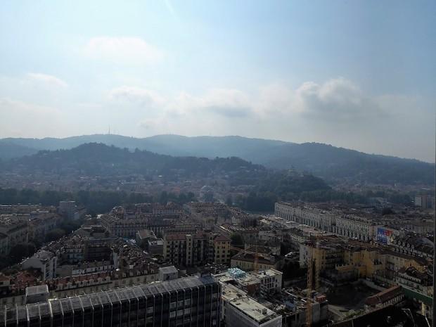221. Turín desde la cúpula de la Mole Antonelliana