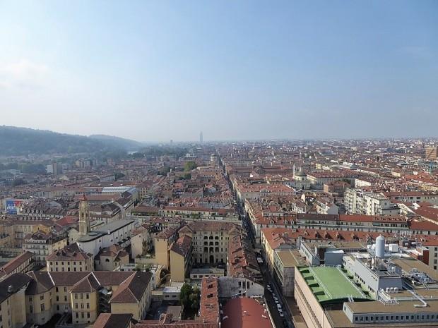 223. Turín desde la cúpula de la Mole Antonelliana