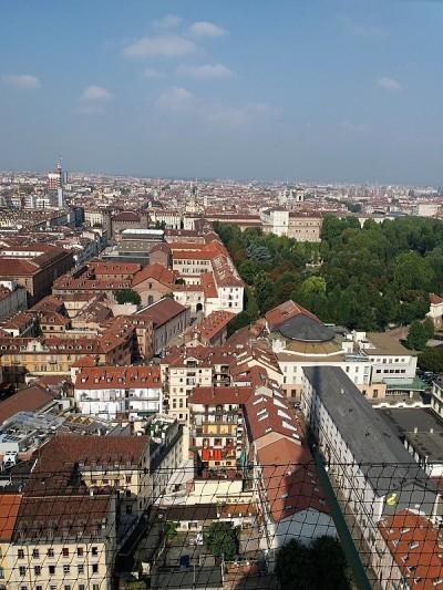 236. Turín desde la cúpula de la Mole Antonelliana