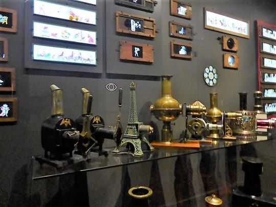 249. Mole Antonelliana. Museo del Cine. Linternas mágicas