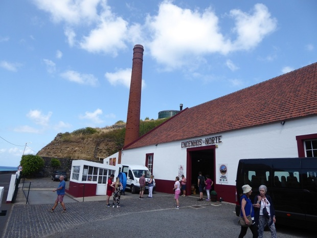 286. Porto da Cruz. Destilería azúcar de caña