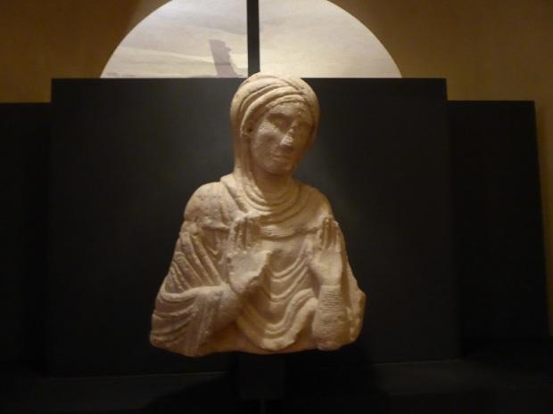 422. Museo Diocesano. Virgen orante. Finales del XIII