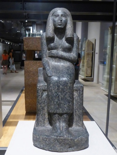 58. Museo Egipcio. Estatua de la princesa Radji