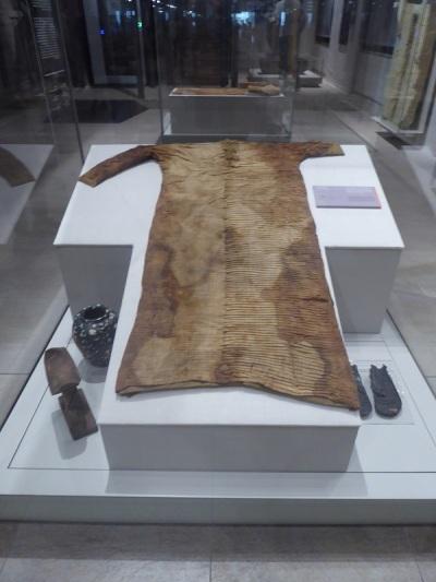 63. Museo Egipcio. Túnica. Imperio Antiguo. V dinastía. 2543-2435 a. C.